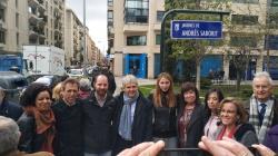 """El ilustre alcalaíno Andrés Saborit, homenajeado en Madrid con el Nombramiento """"Jardines Andrés Saborit"""