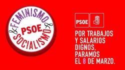 El PSOE de Alcalá se suma a los paros del 8M