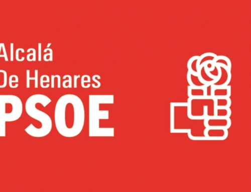 El PSOE agradece el apoyo a todas las personas que le han apoyado en Alcalá de Henares
