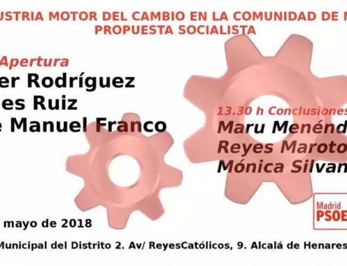 """""""La Industria motor del cambio en la Comunidad de Madrid"""""""