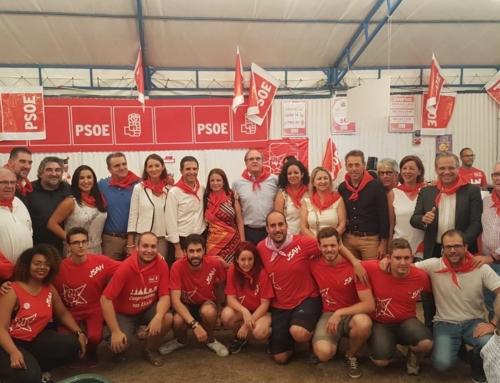 Los socialistas de Alcalá, agradecidos por la gran acogida de nuestra caseta de Ferias 2018