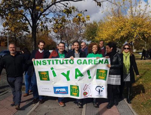 El PSOE de Alcalá, con los vecinos y vecinas de La Garena por la construcción del IES