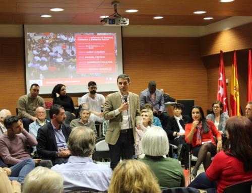 Gran acto del PSOE de Alcalá con la ministra de Sanidad