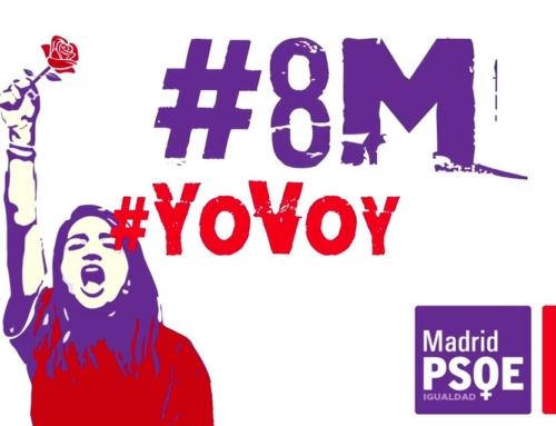 8M: El PSOE de Alcalá reivindica un país feminista