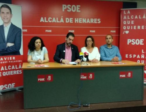 El PSOE presenta las líneas programáticas y las propuestas concretas para todos los barrios de Alcalá