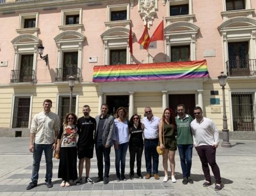 """El PSOE defiende un """"Orgullo Alcalá"""" en el Casco Histórico y con la máxima visibilidad"""