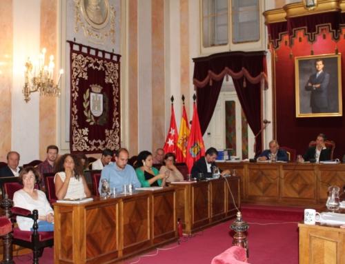 El Pleno aprobó las dos mociones del PSOE