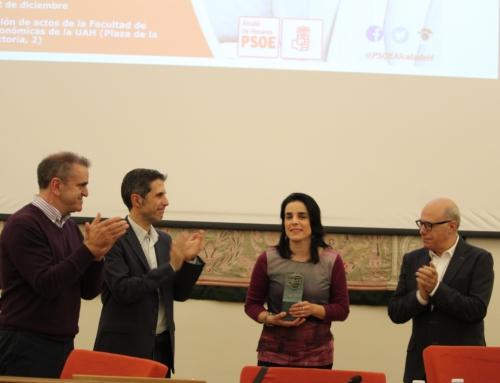 La Fundación Fernando Buesa recibe el XI Premio Libertas del PSOE de Alcalá