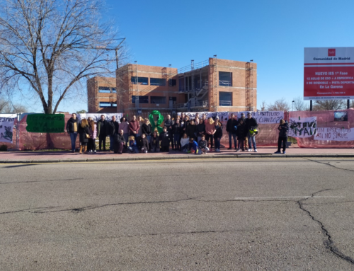 El PSOE insiste a la Comunidad de Madrid: ¡IES Francisca de Pedraza ya!