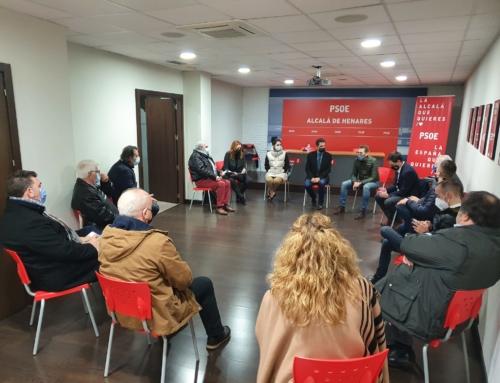 Los socialistas del Corredor del Henares reclaman a la Comunidad de Madrid que ejecute la totalidad de las obras que contempla el PIR