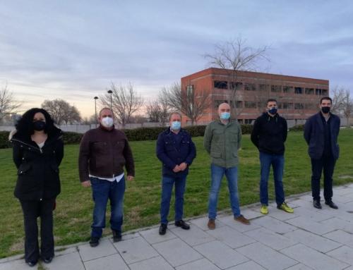 El PSOE de Alcalá de Henares mantiene un encuentro con representantes de la Asociación de Vecinos La Garena