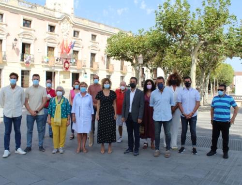 El alcalde Javier Rodríguez Palacios y la portavoz del PSM en la Asamblea de Madrid, Hana Jalloul, exigen a la Comunidad de Madrid la finalización de las obras del IES Francisca de Pedraza